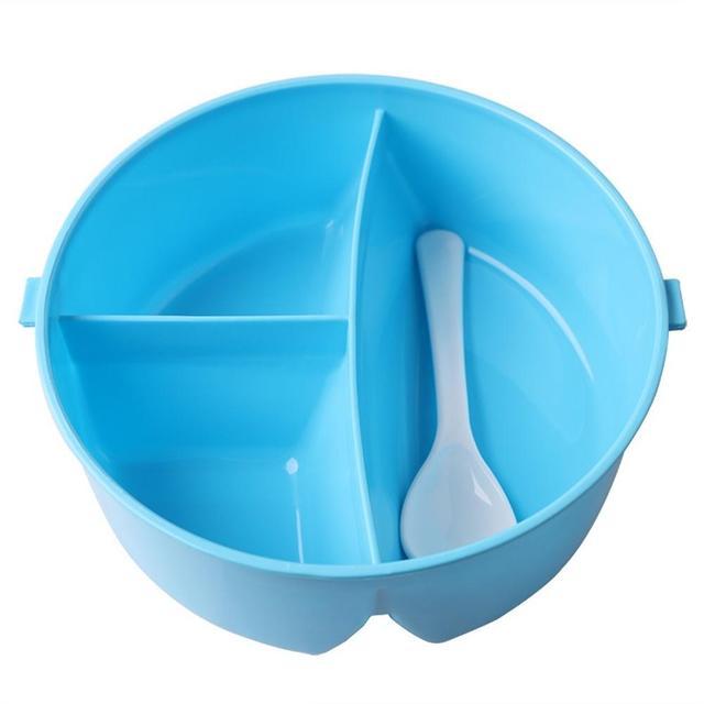 Children's Round 3-Section Lunchbox