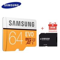 SAMSUNG Micro SD C10 32G 64G Memory Card EVO MicroSD UHS I Class10 SDHC SDXC C10