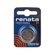 RENATA 5pcs/lot CR2016 3V High-Performance Button Batteries Lithium Watch Remote Battery