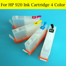10 Set/Lot Refillable Ink Cartridge For HP 920 920XL HP920 HP920XL For HP 6500 7500 6000 7000 With Auto Reset Chip free shipping 2017 new [simon hisaint inki] 5 refillable cartridge for hp 564 564xl cartridges with auto reset chip