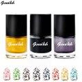 Genailish nail polish & sello polaco 24 colores estampación laca de uñas de arte del clavo filetea-gc
