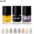 genailish Nail Polish & Stamp Polish 24 Colors Stamping Lacquer Varnish for Nail Art Tools-GC