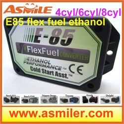 E85 Kit Etanolo E85car kit di conversione ECO Bioetanolo Box etanolo auto, convertitore a bioetanolo 4cyl DHL trasporto libero di SME prezzo
