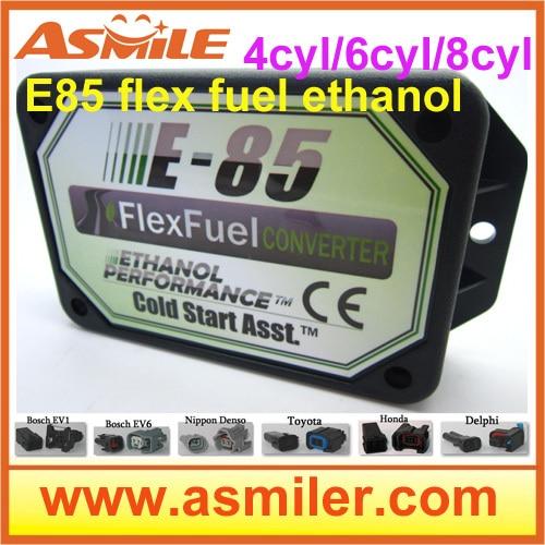 E85 Kit Ethanol E85car Conversion Kit ECO Bioethanol Box  Ethanol Car, Bioethanol Converter 4cyl DHL EMS Free Price