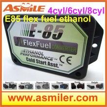 E85 набор этанола E85car набор преобразования эко биоэтанол коробка этанола автомобиль, конвертер биоэтанола 4cyl DHL EMS Бесплатная цена