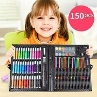 150Pcs/lot Children's Paintbrush Set School Supplies Oil Crayon Painting Tools Kids for darwing