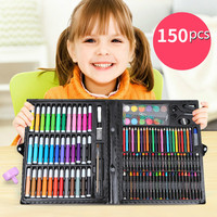 150Pcs/lot Children's Paintbrush Set School Supplies Oil Crayon Painting Tools Kids for darwing