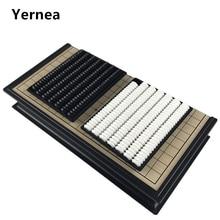 Китайская старая настольная игра Weiqi шашки складной стол Магнитный Шахматный набор Магнитная шахматная игра игрушка Подарки пластиковая игра Yernea