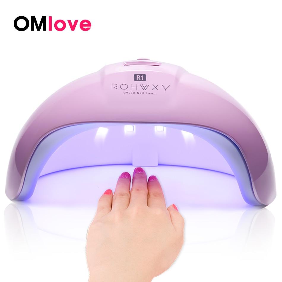 OMlove 36W UV Lamp LED Nail Lamp Nail Dryer For All Gels Polish Sun Light Lamp