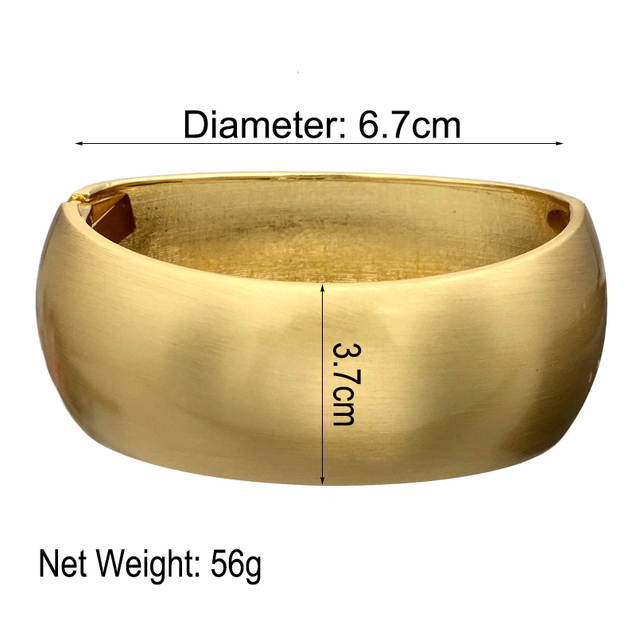 e3cab1e65 Detail Feedback Questions about MANILAI Inferior smooth Gold Color Alloy  Punk Cuff Bracelets Women 2018 Geometric Statement Bangles Bracelets Big  Jewelry on ...