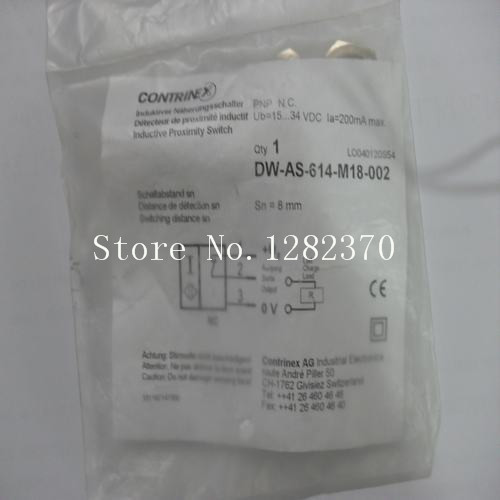 [SA] New original special sales CONTRINEX proximity switches DW-AS-614-M18-002 spot --5pcs/lot кардиган lucy