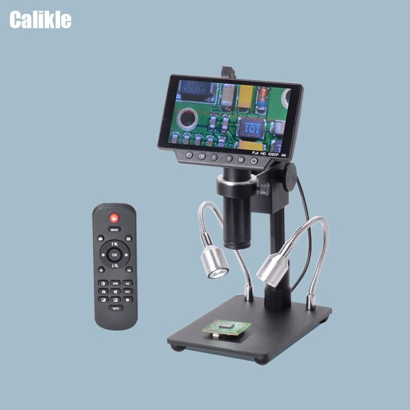 5 дюймов Экран 16MP 4 K 1080 P 60FPS HDMI USB WI FI цифровой микроскоп промышленности Камера 150X C mount Объектив SONY Сенсор для пайки