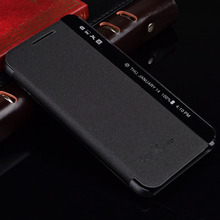 Fundas For LG X Power XPower Case Smart Answer Side View Window Leather Flip Cover Phone Bag For LG X Power K210 K220 K220ds