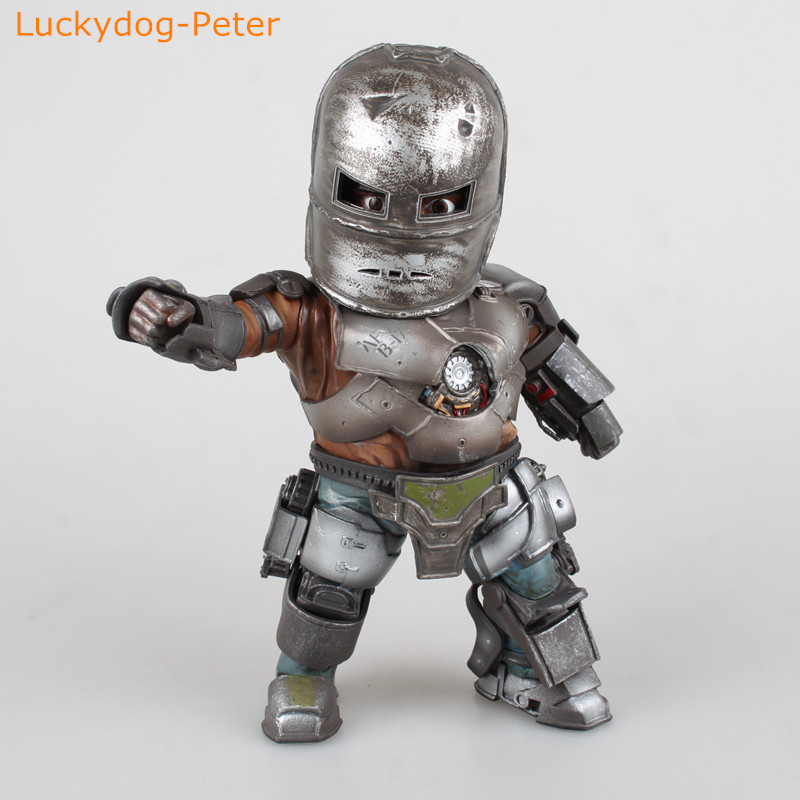 Iron Man 3 Mark 1 Egg Attack Action Figure 1 7 scale painted figure Light Ver
