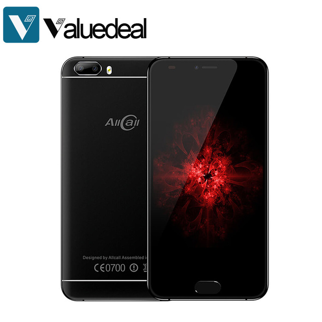 AllCall Bro 5.0 Inch Smartphone 16GB MTK6580A 8.0MP Android 7.0 Dual Rear Camera Metal Body OTG mobile phone