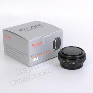 Image 3 - Zhongyi Lens Turbo II Odak Düşürücü Hız Yükseltici Adaptör için Canon FD Dağı Lens Mikro Four Thirds MFT Kamera m4/3 MFT GH4