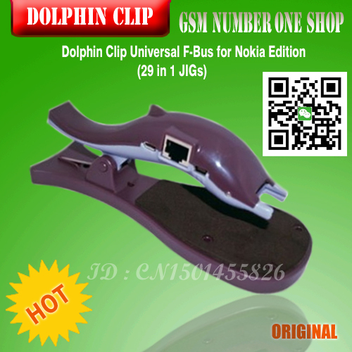 Free Shipping+100%original new Dolphin Clip Universal F-Bus For Nokia Edition (29 in 1 JIGs)+ Free Shipping