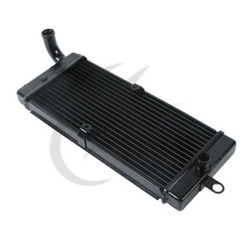 Black Aluminum Radiator Cooler for Honda Shadow ACE 750 VT750C 1997-2003 98 99 2000 2001 Replacement Motorcycle Accessories