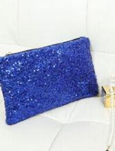 2019 New Fashion Dazzling Sequins Handbag Party Evening Bag Wallet Purse Glitter leopard inside Spangle Day Clutches 9 Colors
