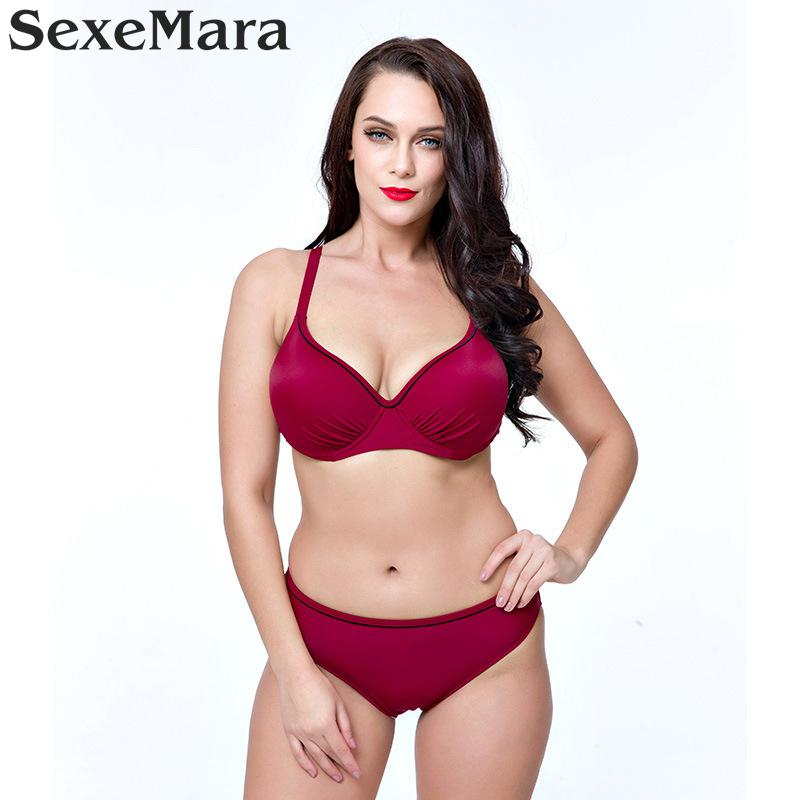 2017 Swimwear Women Sexy Plus Size Swimsuit Fat Wear Large Size - Sportswear and Accessories - Photo 4
