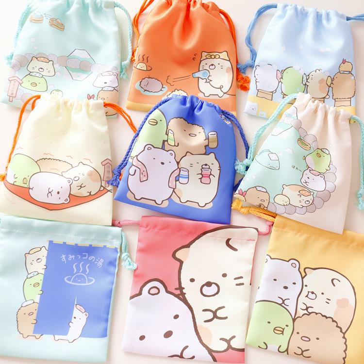 Cute Cartoon Sumikko Gurashi Toys Accessories Dolls Bag School Office Supply for girls gifts