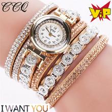 Women watches Luxury Dress Leather Fabric Gold Fashion Leather Casual Analog  Women Rhinestone Watch relogios