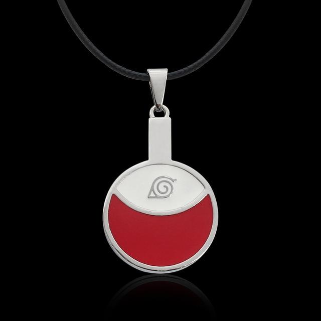 Naruto Pendant Uchiha Itachi Logo Choker Necklace