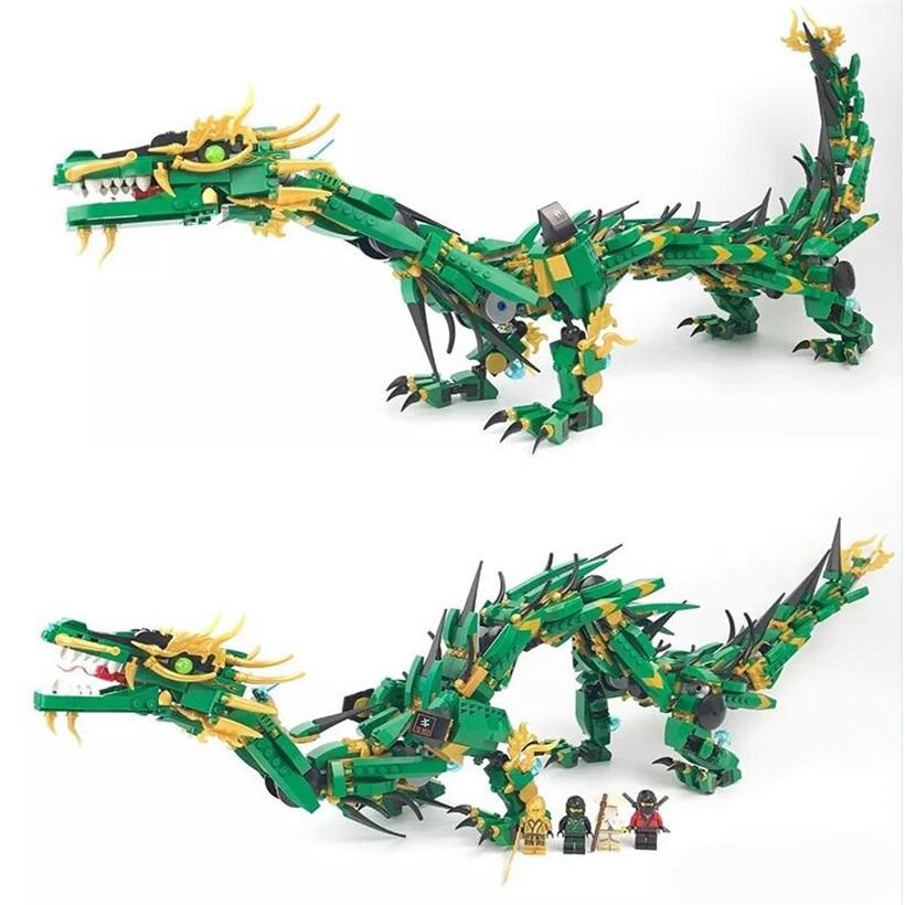 Lepin 1443 pcs small particle assembled ABS plastic dragon knight building blocks bricks model juguetes blocks toys for children hm136 57pcs large particle building