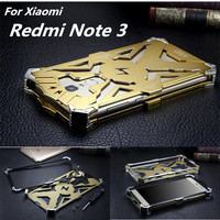 Redmi Note3 Dropproof Cover Phone Case For Xiaomi Redmi Note 3 Aluminum Front Back Skin Shockproof