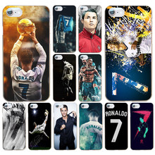 54DD Cool Cristiano Ronaldo CR7 Hard Transparent Cover Case for iphone 4 4s 5 5s se 6 6s 8 plus 7 7 Plus X(China)