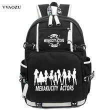 Luminous Kagerou Project Cosplay Backpack Rucksack MekakuCity Actors Shoulder Bags Mochila Femininas Schoolbags Large Capacity(China)