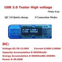 USB Tester 3 0 H 4 Bit Digital OLED USB Charger Doctor Volt Ammeter Power Supply