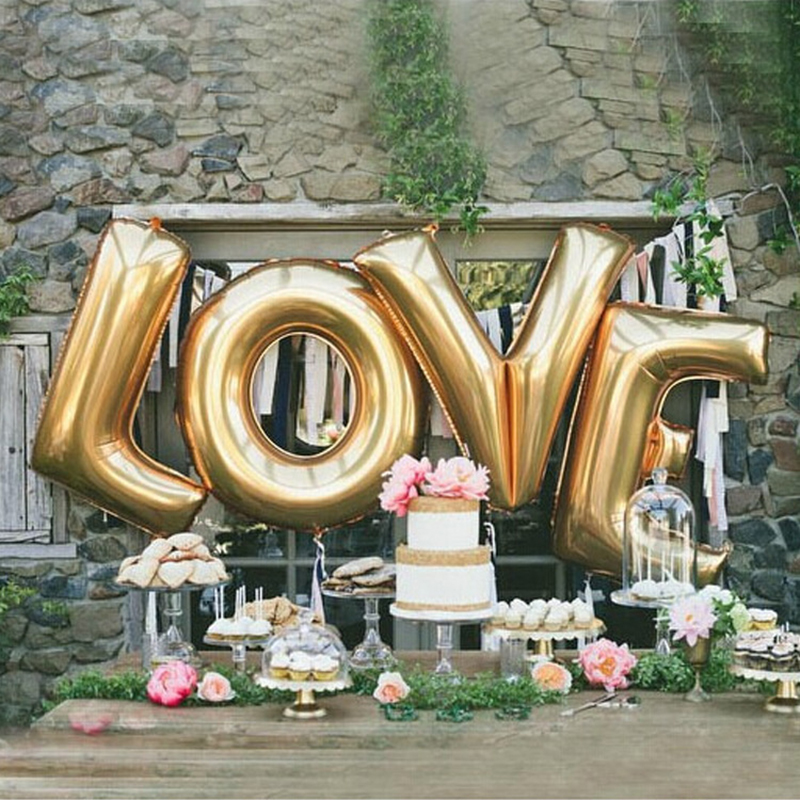 1PCS 40 inch Foil Balloons Helium Balloon inflatable festa casamento wedding Birthday balloon Anniversary Party Supplies