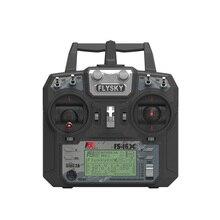 Flysky transmisor controlador para Dron de control remoto, dispositivo transmisor controlador de 10CH con receptor A8S, actualización i6 para helicóptero de radiocontrol, FS i6X FS I6X 2,4G