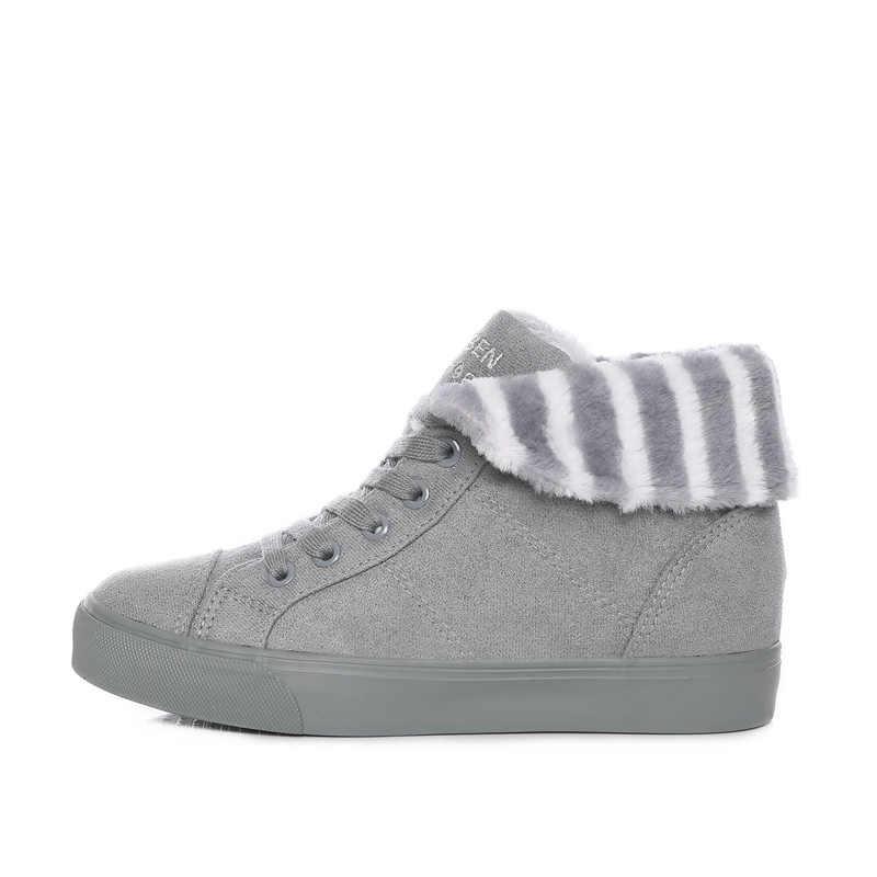 Vendita calda Scarpe Da Donna Stivali Solid Slip-On Morbida Carino Scarponi Da Neve Delle Donne Punta Rotonda Piatta con Inverno Caviglia stivali