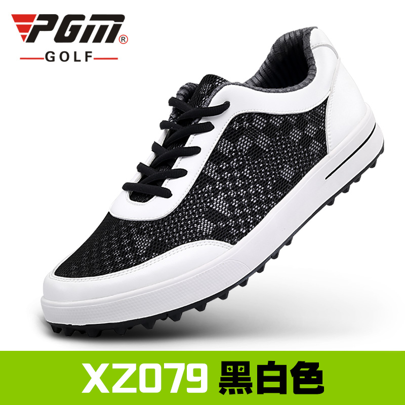Summer Models PGM Golf Men's Shoes Super Men Breathable Net Cloth Sneakers Mesh Shoes Soft Ventilation Pgm Sports Shoes for Male цена