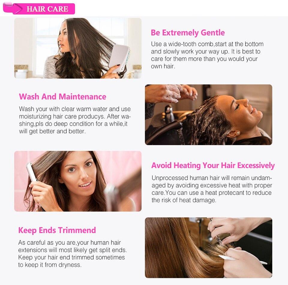 X-Elements Brazilian Ombre Body Wave Hair Bundles T1B 30 Burgundy 39J Purple Colored Human Hair Weave Non-Remy Hair Extensions (8)