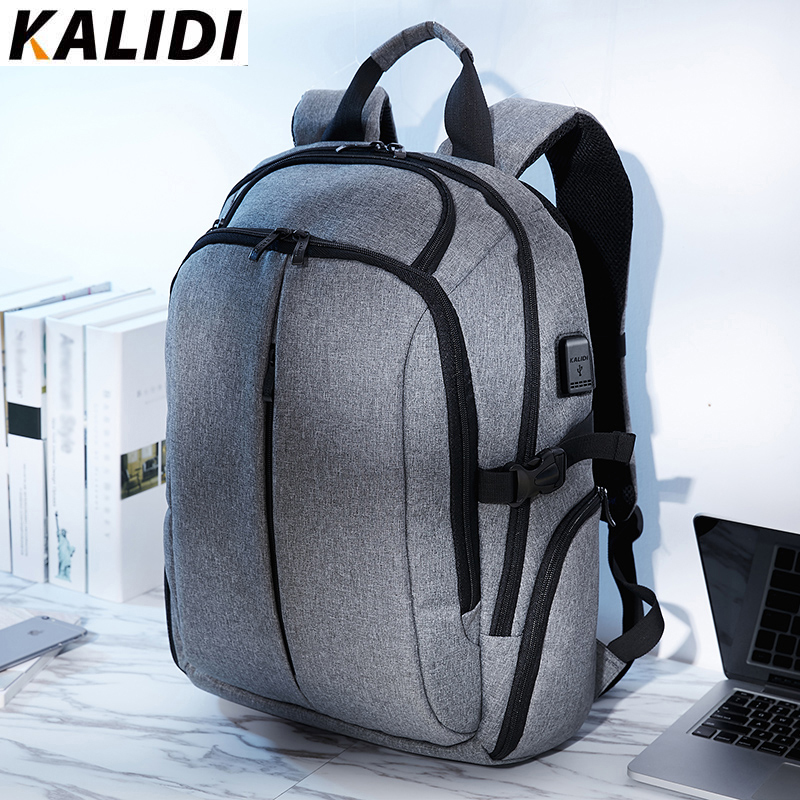 KALIDI Laptop Backpack for Teenager Backpacks Men School Bag Waterproof Vintage Backpack Travel 15 6 inch