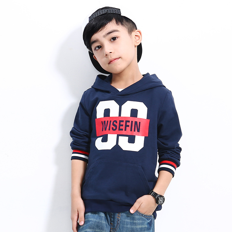 Fashion Children Hoodies 2018 Spring&Autumn New Sports Boys Hoodies Casual Cotton Pullovers For 5-16Y Boys Clothes
