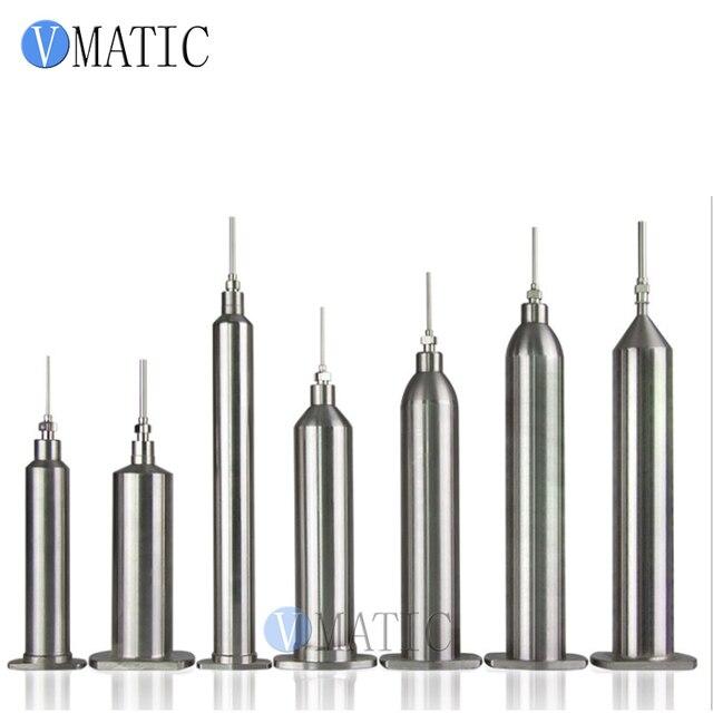 Free Shipping 10cc/ml 20cc/ml 30cc/ml 40cc/ml 50cc/ml Japanese Style Stainless Steel Air Pressure SUS Syringe Barrels