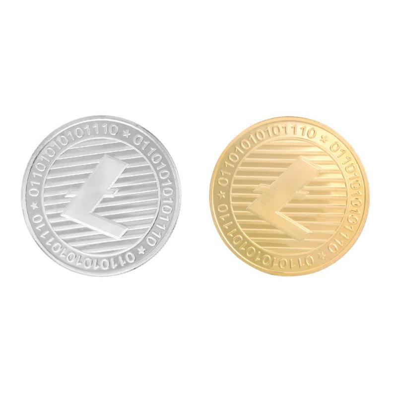 Litecoin Commemorative Coin Non-currency Bitcoin Tourism Art Collection Commemorative Coins Art Collection Gift