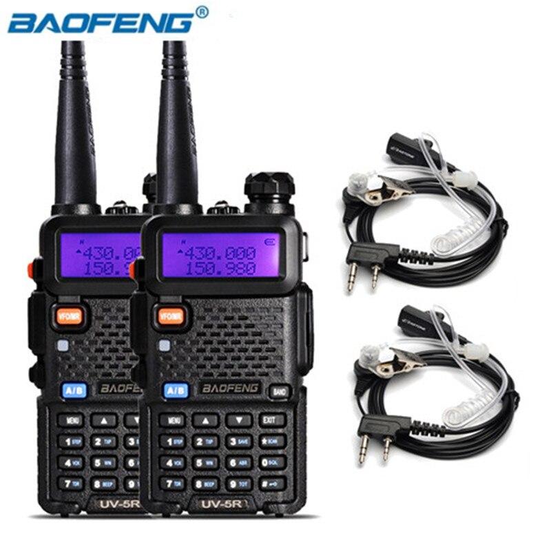 BaoFeng UV-5R Walkie Talkie Dual Band Two Way Radio Pofung 1800mah Portable Ham Radio Transceiver UV5R Handheld Toky Woky Uv 5r