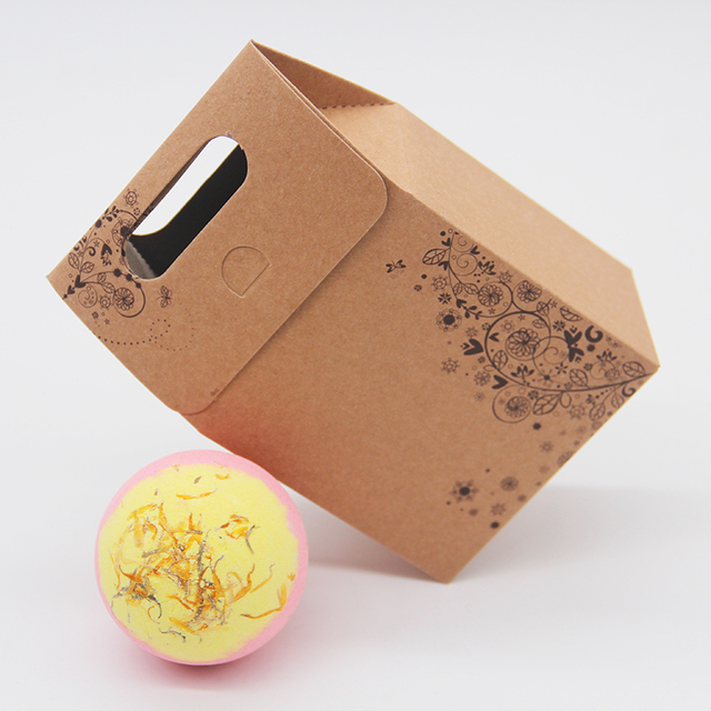 Tsing Bath Bomb Camomile 120G Essential Oil Handmade Bubble Bath Bomb SPA Gift Set Nourishing Moisturizing Bath Bomb Box