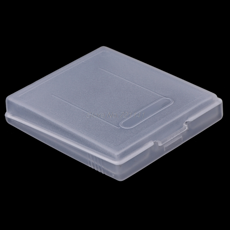 5Pcs Clear Plastic Game Cartridge Case Dust Cover For Nintendo Game Boy Color GBC Electronics Stocks