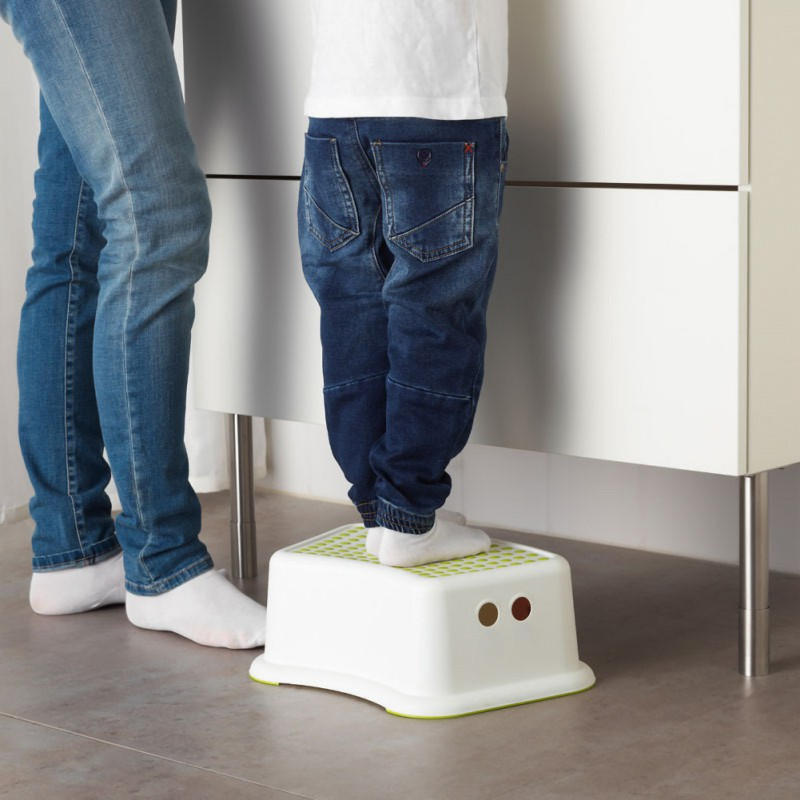 2019 Children Bathroom Stool Slip-resistant Step Pads Anti-skid Headblock Foot Pedal Steps Bath Stair Toilet Stool