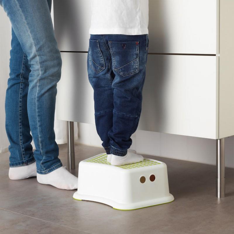2019 Children Bathroom Stool Slip-resistant Step Pads Anti-skid Headblock Foot Pedal Steps Bath Stair Toilet Stool