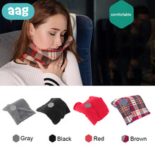 AAG Comfort Scarf Travel Pillow Neck Head Rest Nap Cushion Portable Multiple places Sleep Massage Support Headres Pillows