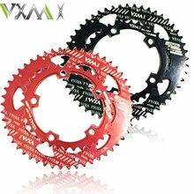 Bicylcle Crank 110BCD 50/35T 700C Road Bike 7075-T6 Alloy Oval Chainwheel Kit Ultralight Ellipse Climbing Power Chain Plate Set