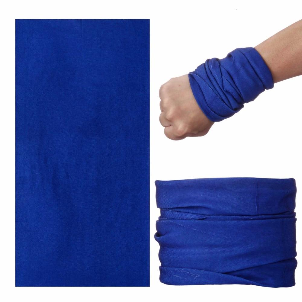 Bandanas Hijab Balaclava Airsoft-Mask Shemagh Buffe Muslim Black Blue Solid-Color Kaffiyeh