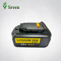 4000mAh 18V Lithium Ion Power Tool Rechargeable Battery Replacement For DEWALT DCB181 DCB180 DCB182 DCB200 DCB201